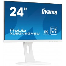 Monitor iiyama ProLite XUB2492HSU-W1 BÍLÝ UltraSlim IPS FlickerFree BlueLightReducer