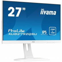 Monitor iiyama ProLite XUB2792QSU-W1 Bílý 27'' WQHD IPS FlickerFree BlueLightReducer